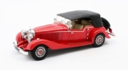 Mercedes . K Tourer Mayfair rouge - cabriolet fermé 1/43