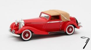 Mercedes . K DHC by Corsica rouge  1/43