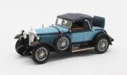 Mercedes . K Sport cabriolet by Hibbard & Darrin #38182 bleu fermée 1/43