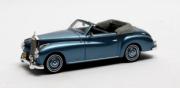 Mercedes . A W187 Wendler Cabriolet Bleu 1/43