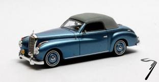 Mercedes . A W187 Wendler Fermé Bleu 1/43