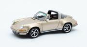 Porsche 911 Targa Singer design - or métal Targa Singer design - or métal 1/43