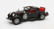 Stutz . Model M Supercharged Lancefield Coupe noir - coffre ouvert 1/43