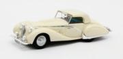 Talbot . Lago T150C Cabriolet fermé Figoni & Falaschi #90111 blanche 1/43
