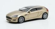 Aston Martin . Jet 2 Bertone gold metallic 1/43