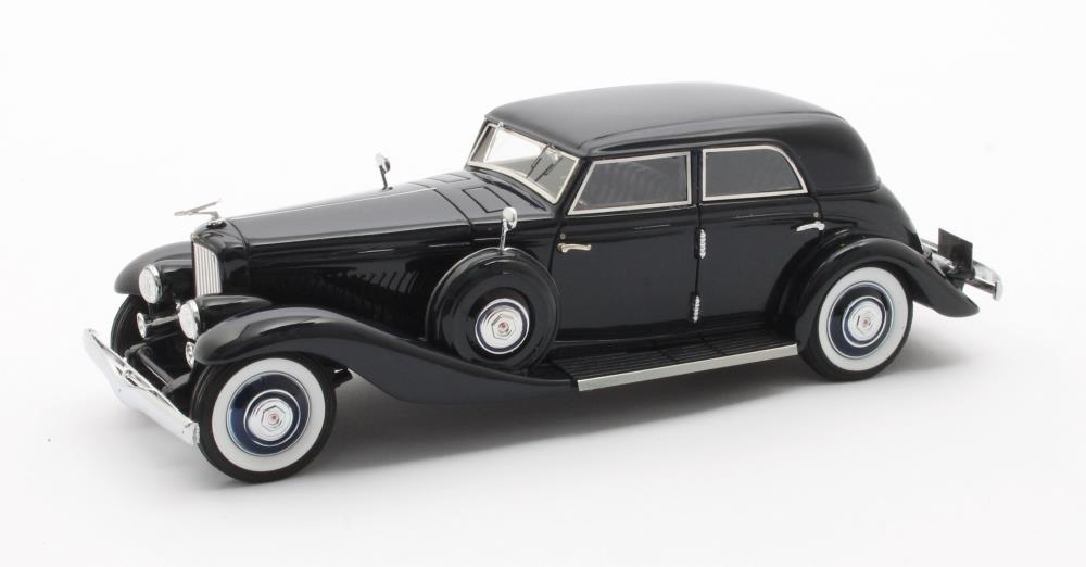 Duesenberg JN 559-2587 Long wheel base Rollston bohman & Schartz bleu 1935 1 43