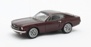 Ford Mustang Fastback Shorty rouge métal Fastback Shorty rouge métal 1/43