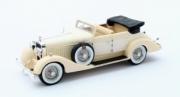Hispano Suiza . H6C Hibbard & Darrin #12036 cabriolet beige 1/43