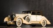 Hispano Suiza . H6C cabriolet Hibbard & Darrin #12036 crème - version fermé 1/43
