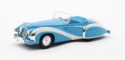 Talbot . Lago Grand Sport cabriolet Saoutchik bleu ouvert 1/43