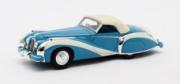 Talbot . Lago Grand Sport cabriolet Saoutchik bleu fermée 1/43