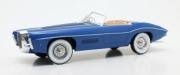 Bugatti . T101C Exner Ghia cabriolet bleu 1/18