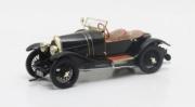 Bugatti . 18 Sports 2 seater Black Bess 1/43
