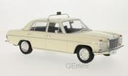Mercedes . /8 (W115) beige taxi portes et capot fermés 1/18