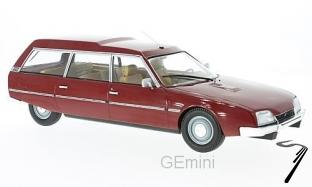 Citroen . 2200 super break serie I rouge 1/18