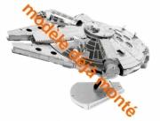 Star Wars . modèle monté Millenium falcon en metal (S251) autre