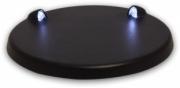 Divers présentoir avec éclairage LED bleu - prise USB ou piles incluses - diamètre 9.5cm présentoir avec éclairage LED bleu - prise USB ou piles incluses 1/43