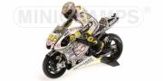 Yamaha YZR-M1 GP Laguna Seca + Figurine Rossi + Stand #1  1/12