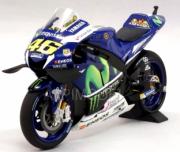 Yamaha YZR-M1 moto GP 1er GP Catalogne  1/12