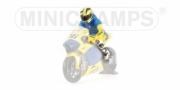 Yamaha Figurine riding Sachsenring  1/12
