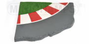 Divers piste de course courbée 90°  1/12
