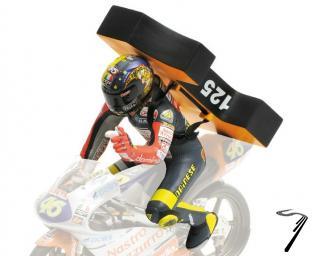 Divers Champion du Monde GP 125 BRNO - Figurine Valentino Rossi  1/12