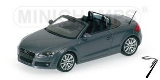 Audi . Roadster gris 1/43