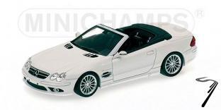 Mercedes . 55 AMG Blanc 1/43