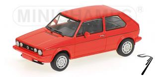 Volkswagen . GTI rouge 1/43