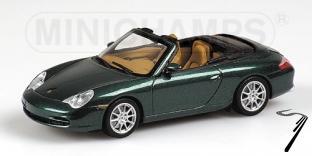 Porsche 911 Cabriolet vert métal Vert Métal 1/43