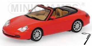 Porsche 911 Rouge Cabriolet Rouge 1/43