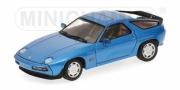 Porsche 928 S bleu S bleu 1/43