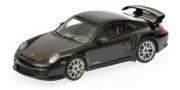 Porsche 911 (997 II) GT2 RS Noir/Roues Argent (997 II) GT2 RS Noir/Roues Argent 1/43