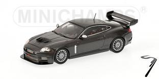 Jaguar XKR GT3 gris GT3 gris 1/43