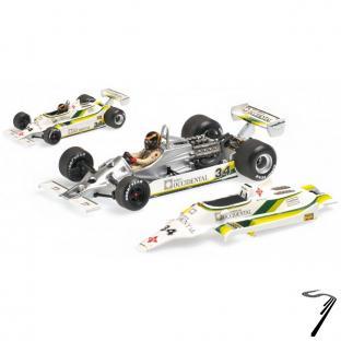 Williams FW07 GP Espagne  1/43
