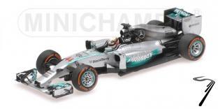 Mercedes AMG Petronas W05 1er GP Malaisie  1/43