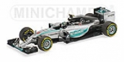 Mercedes W06 Hybrid with rain tires USA GP  1/43