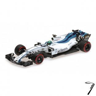Williams FW40 – Dernier GP – Abu Dhabi GP  1/43