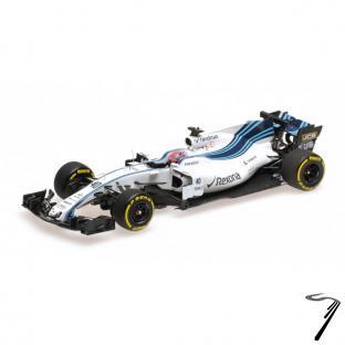 Williams FW40 - Test novembre 2017 Abu Dhabi  1/43