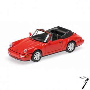 Porsche . 964 Carrera 2 rouge 1/43