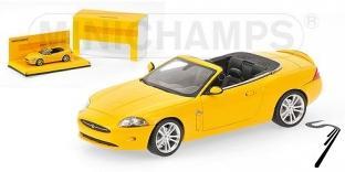 Jaguar XK jaune  jaune 1/43