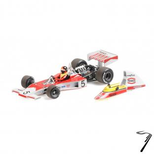 Mac Laren M23 Champion du Monde - avec détail moteur  1/43