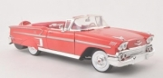 Chevrolet . convertible red 1/18