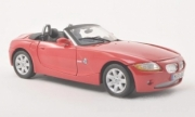 BMW . E85 convertible red 1/18
