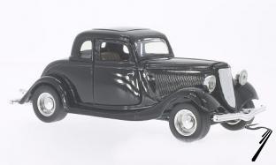 Ford . coupé noir 1/24