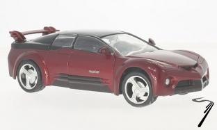 Pontiac . Rangeous rouge métallisé 1/24