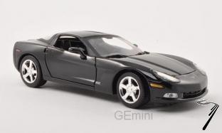 Chevrolet Corvette C6 noir C6 noir 1/24