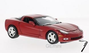 Chevrolet Corvette C6 rouge C6 rouge 1/24