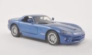 Dodge . SRT-10 hardtop bleu métallisé 1/24