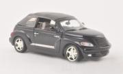 Chrysler . cabriolet noir 1/24